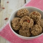 Oatmeal Cookies with Goji Berries