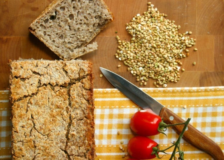 recipe, bread, buckwheat, fermented
