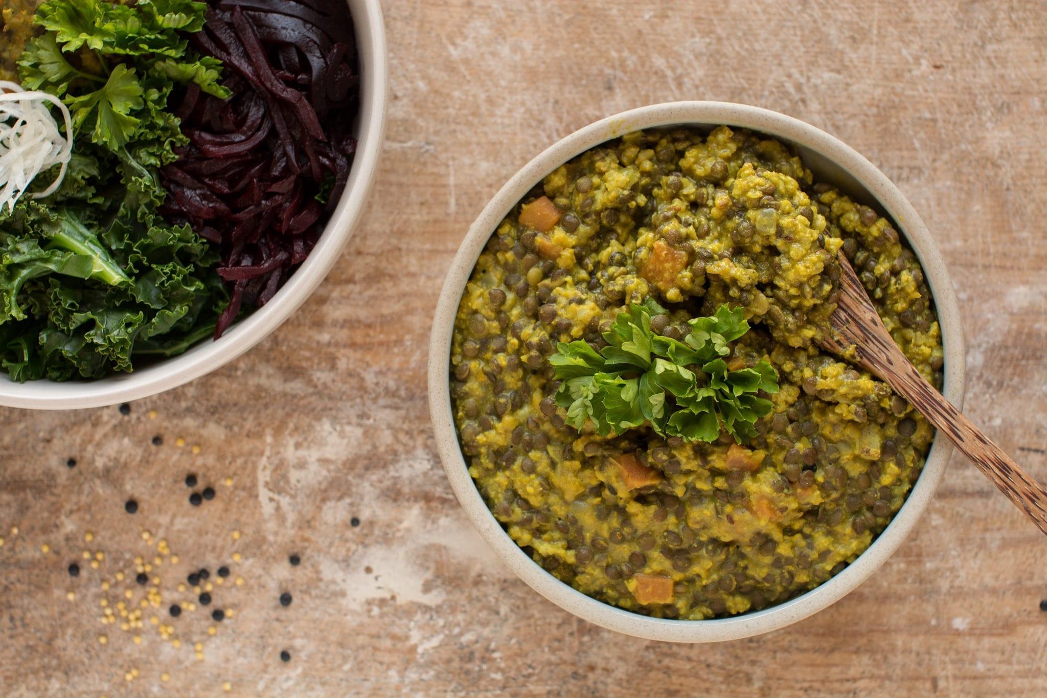 How to Make Millet-Lentil Vegan Dal Recipe   Nutriplanet