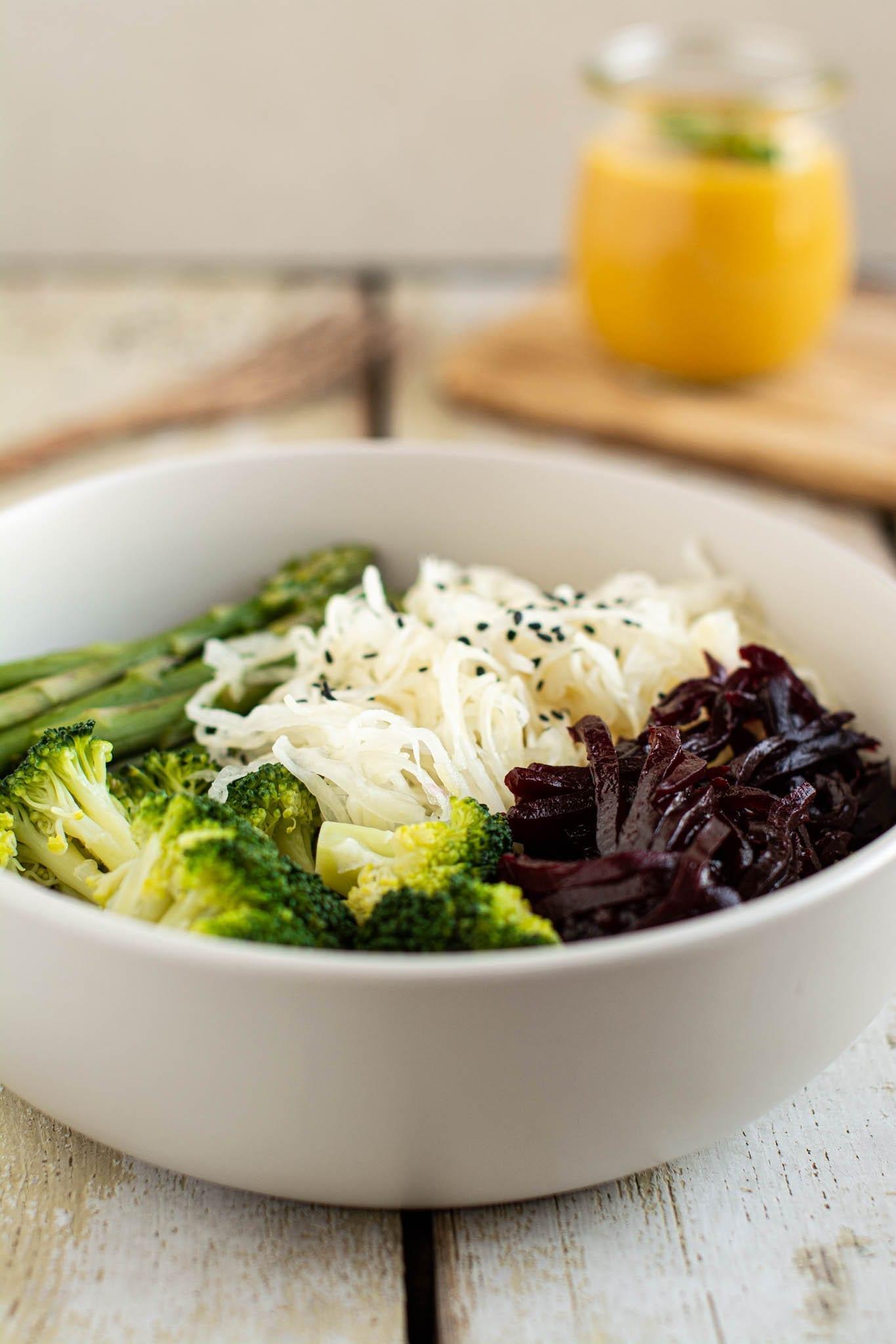 Oil-Free White Bean Salad Dressing