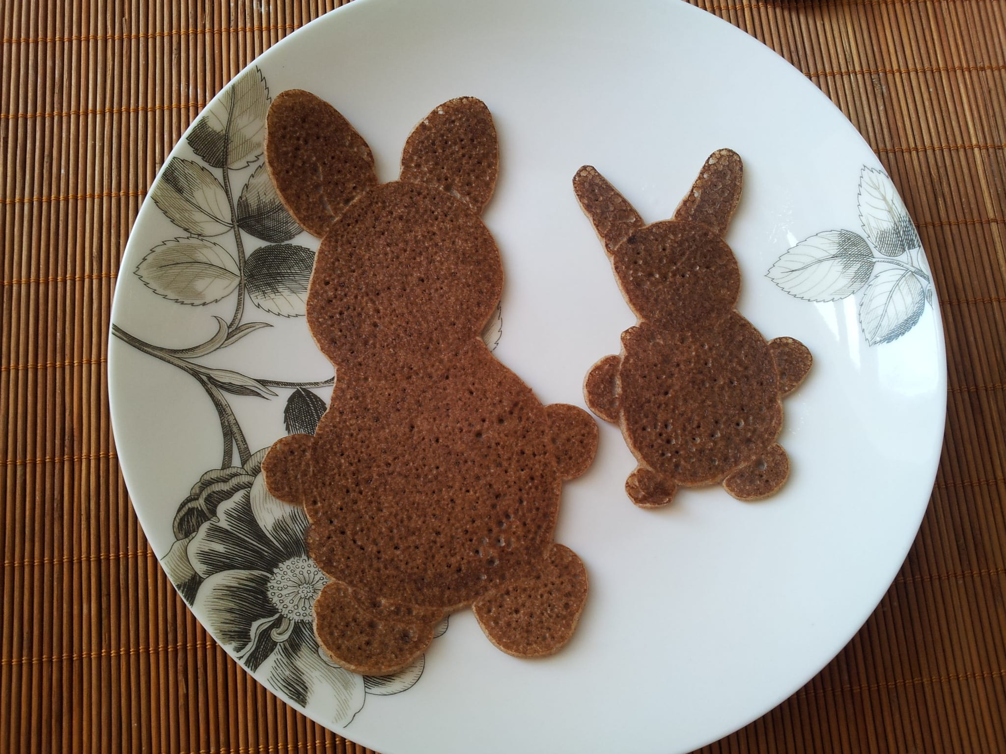 Buckwheat Pancake Rabbits