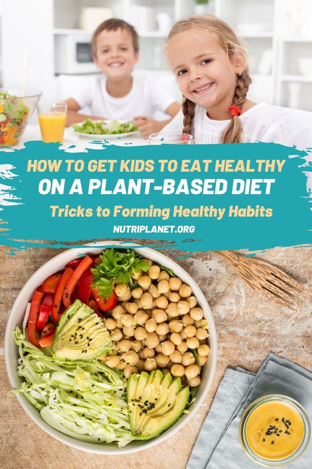 Learn how to get kids to eat healthy on a plant-based diet. Tricks and hacks on forming healthy habits right from the beginning.