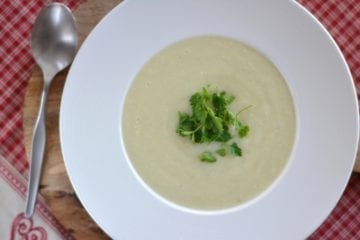 Cauliflower Puree Soup