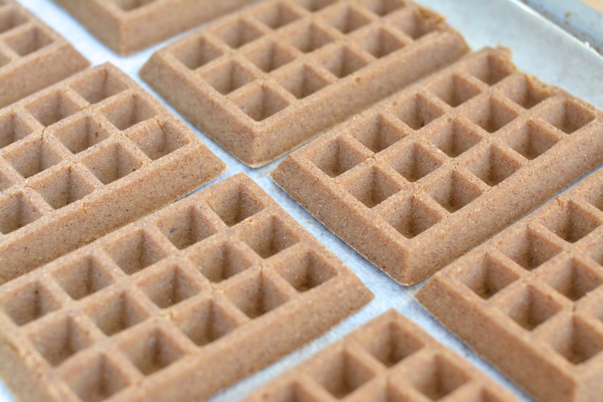 Plant-Based Oil-Free Oven Waffles