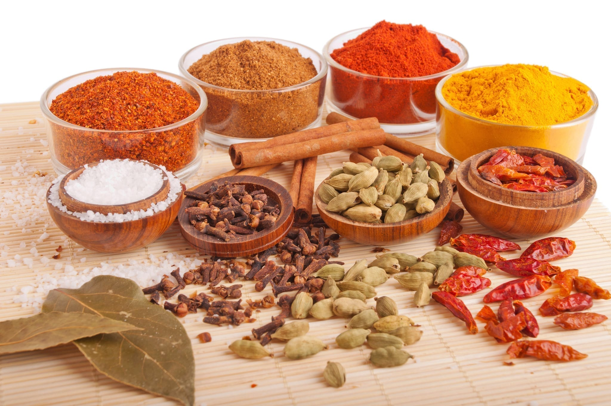 Spices and herbs vegan pantry staples