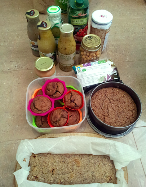 Plant-based food for road trip