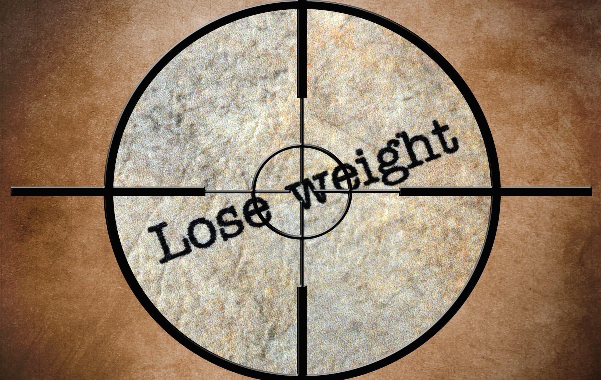 Lose weight target