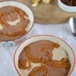 Creamy Tofu-Cashew Cheesecake Dessert Bowl