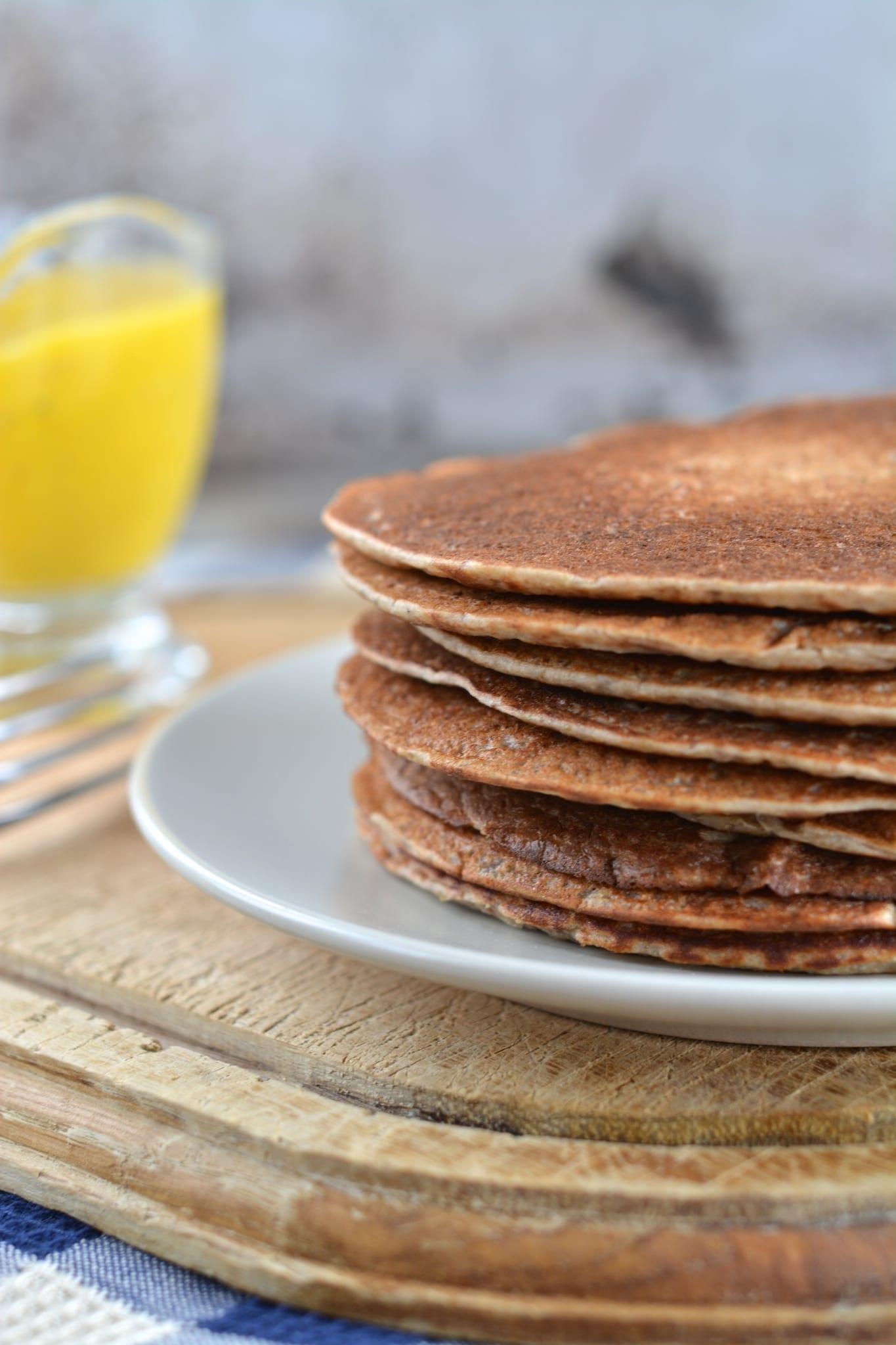 Buckwheat Sourdough Pancakes