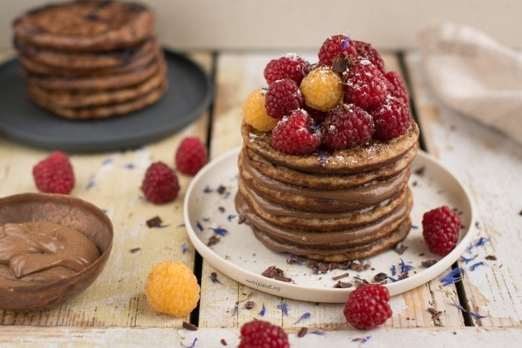 Vegan Buckwheat Sourdough Pancakes