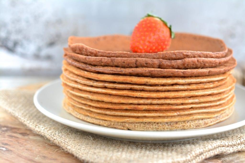 Vegan Pancake Tart
