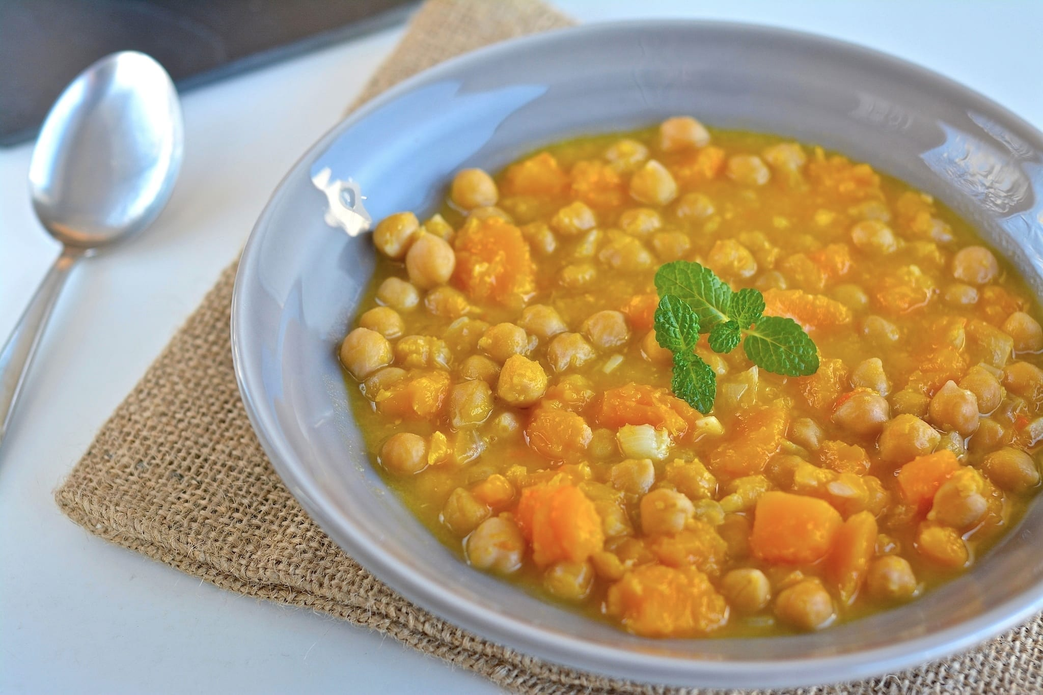 Stew, Squash-Chickpea