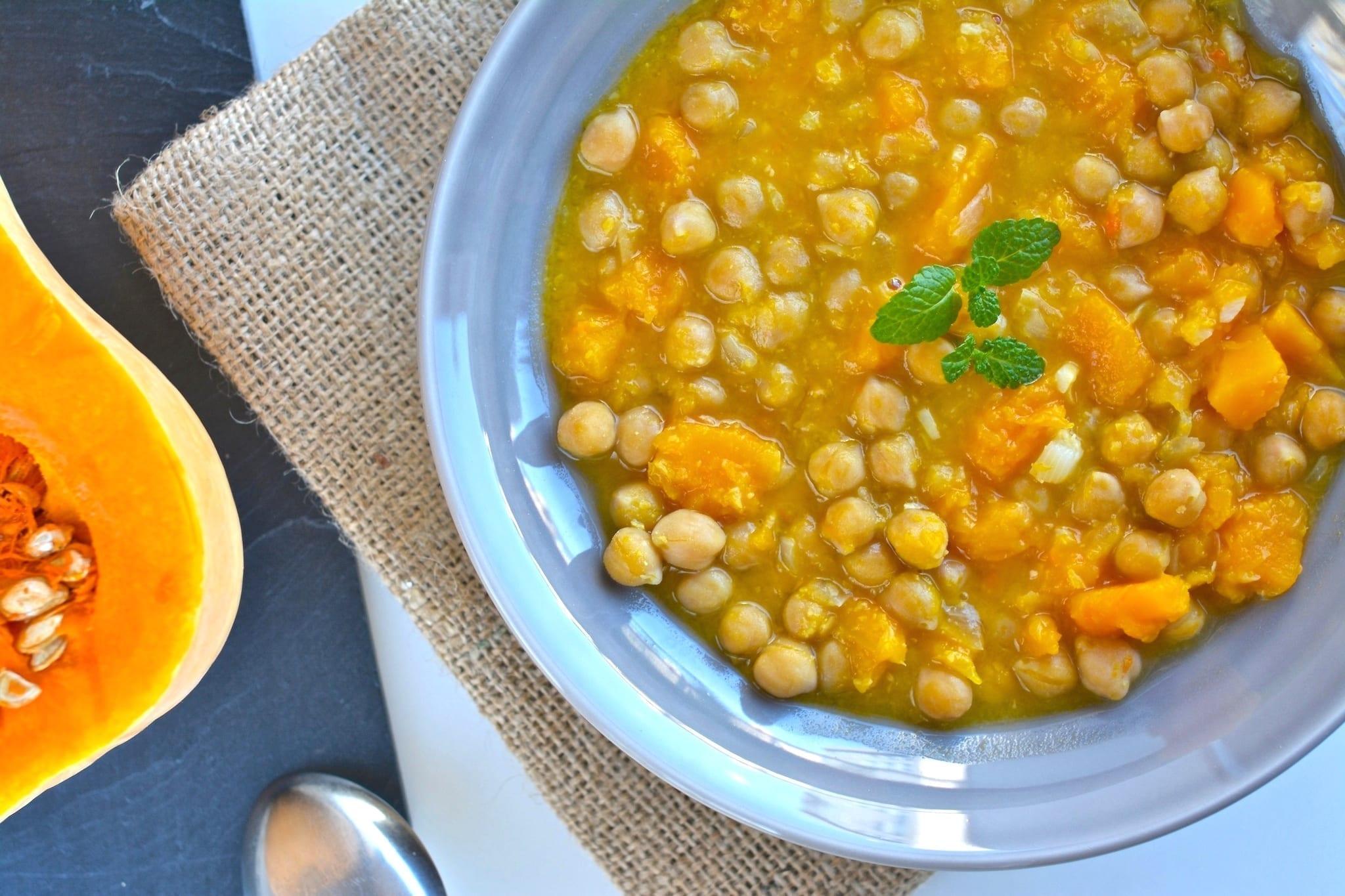 squash chickpea stew