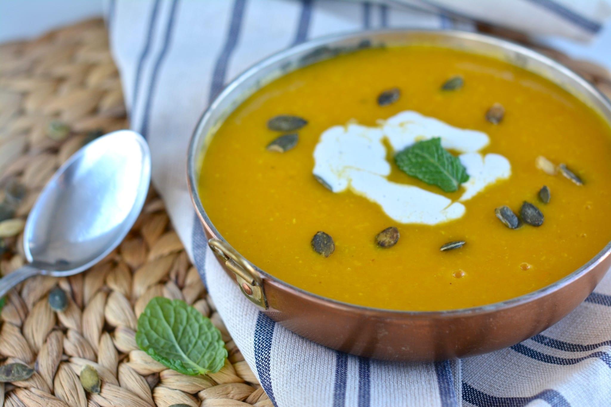 Soup, Butternut Squash-Lentil