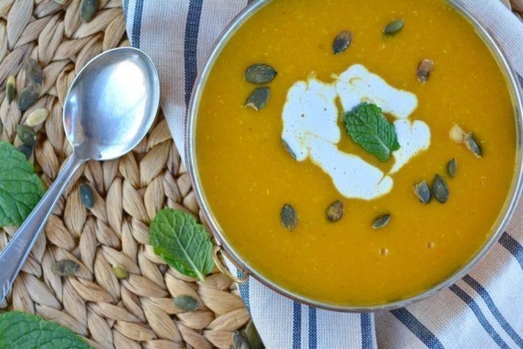 Butternut Squash-Lentil Soup