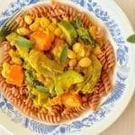 Stew, Artichoke-White Bean-Summer Squash