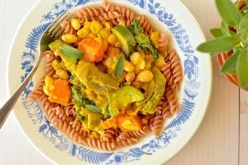 Stew, Artichoke-White Bean-Summer Squash