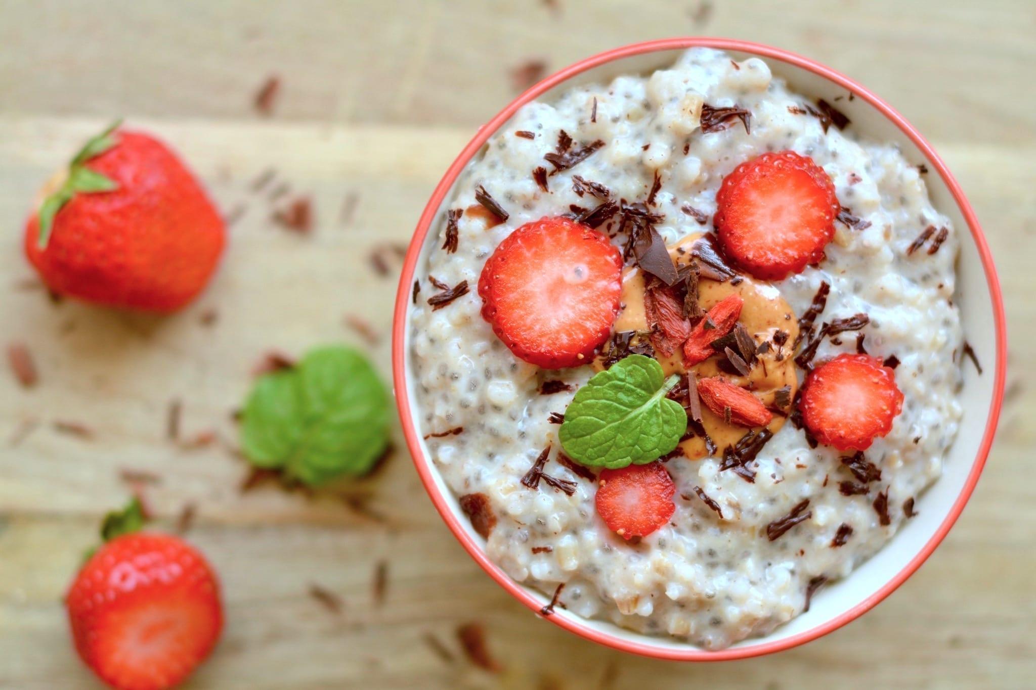 Porridge, Barley-Chia