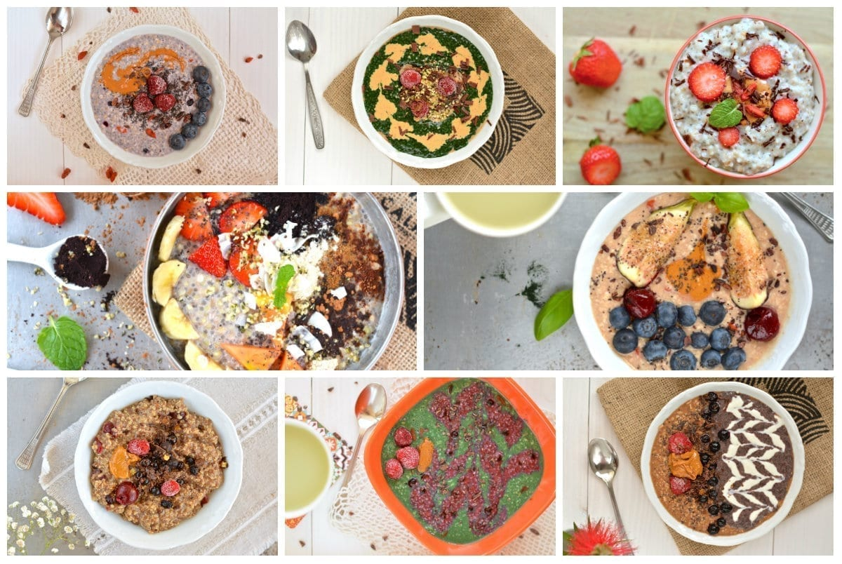Porridge collage