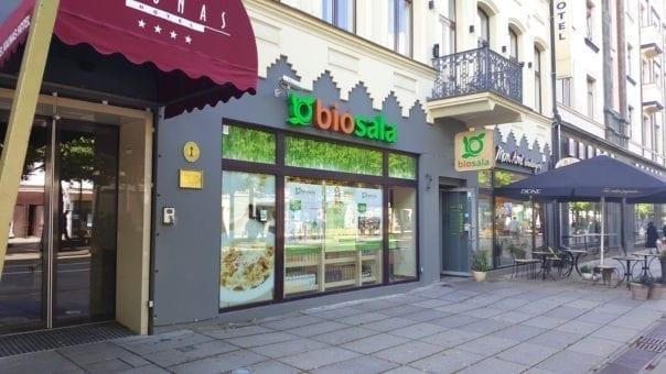 Organic shop Biosala in Kaunas
