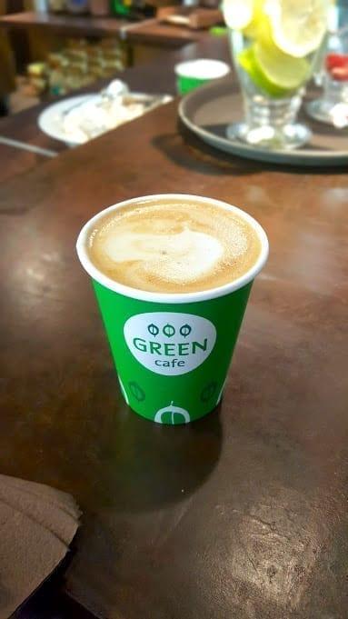 Green Cafe in Kaunas