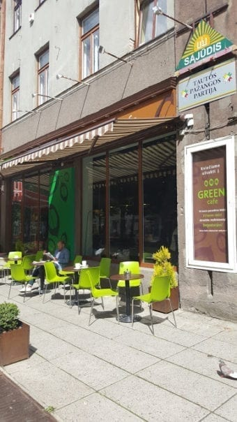 Green Cafe in Kaunas