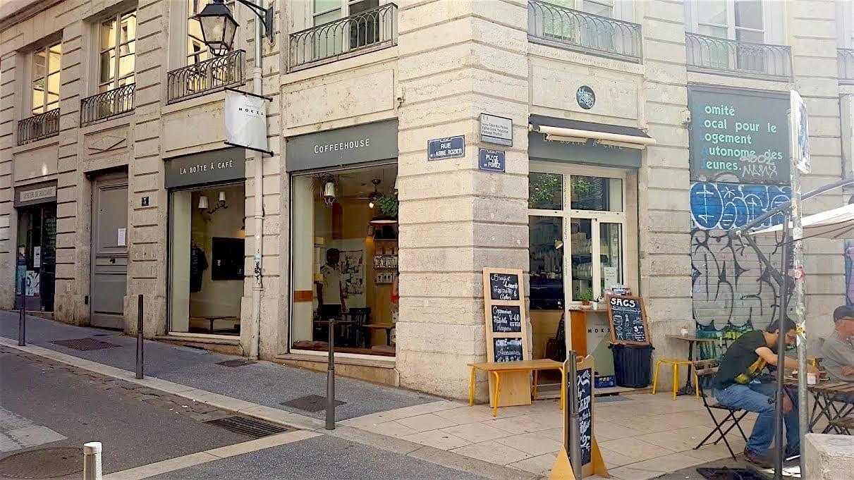 Mokxa, specialty coffee shop in Lyon