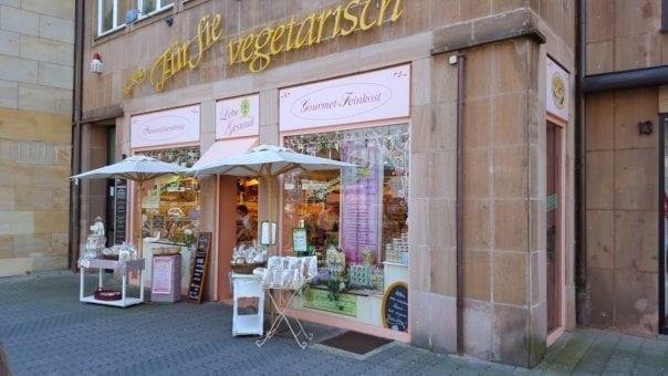 Vegan organic shop Lebe Gesund in Nürnberg
