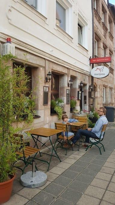 Vegan restaurant Mariposa in Nürnberg