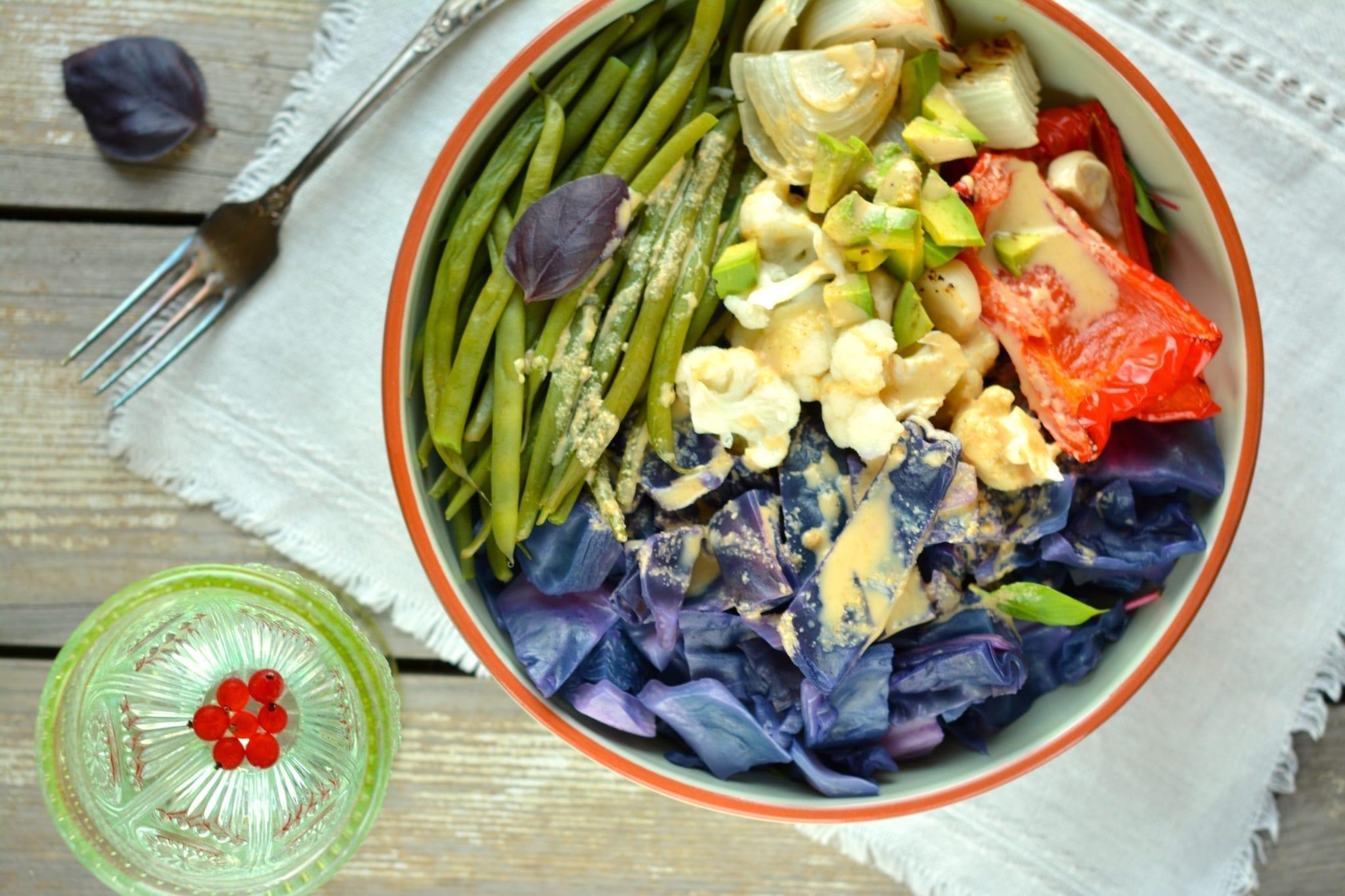 Vegan-Candida-Diet-Buddha-Bowl, vegan candida diet meal plans