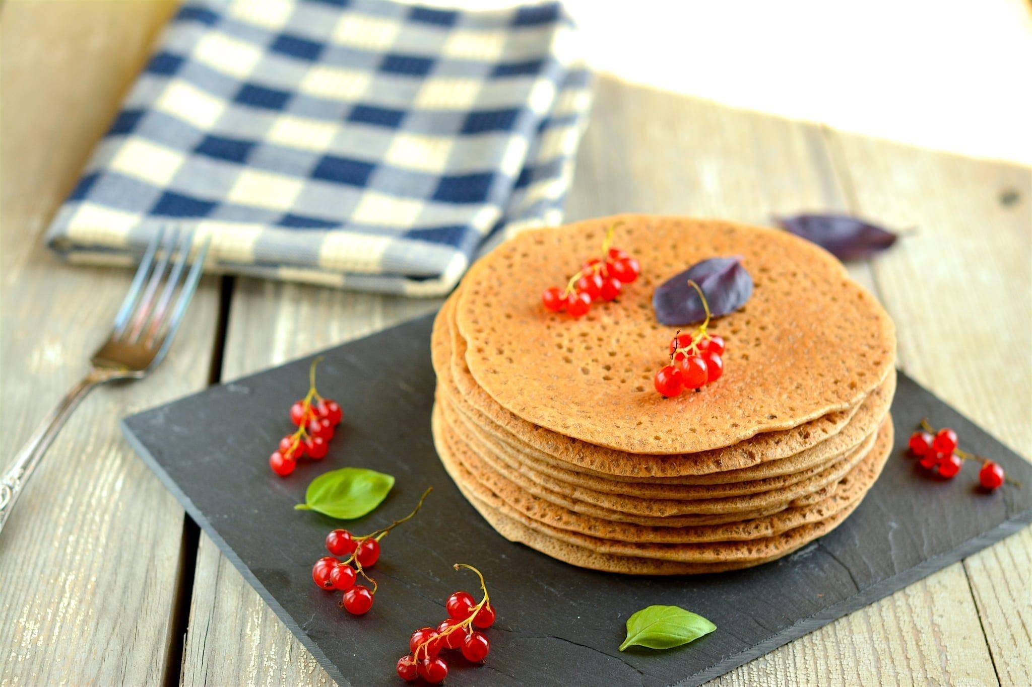 pancakes-buckwheat-candida fighting, vegan candida diet meal plans