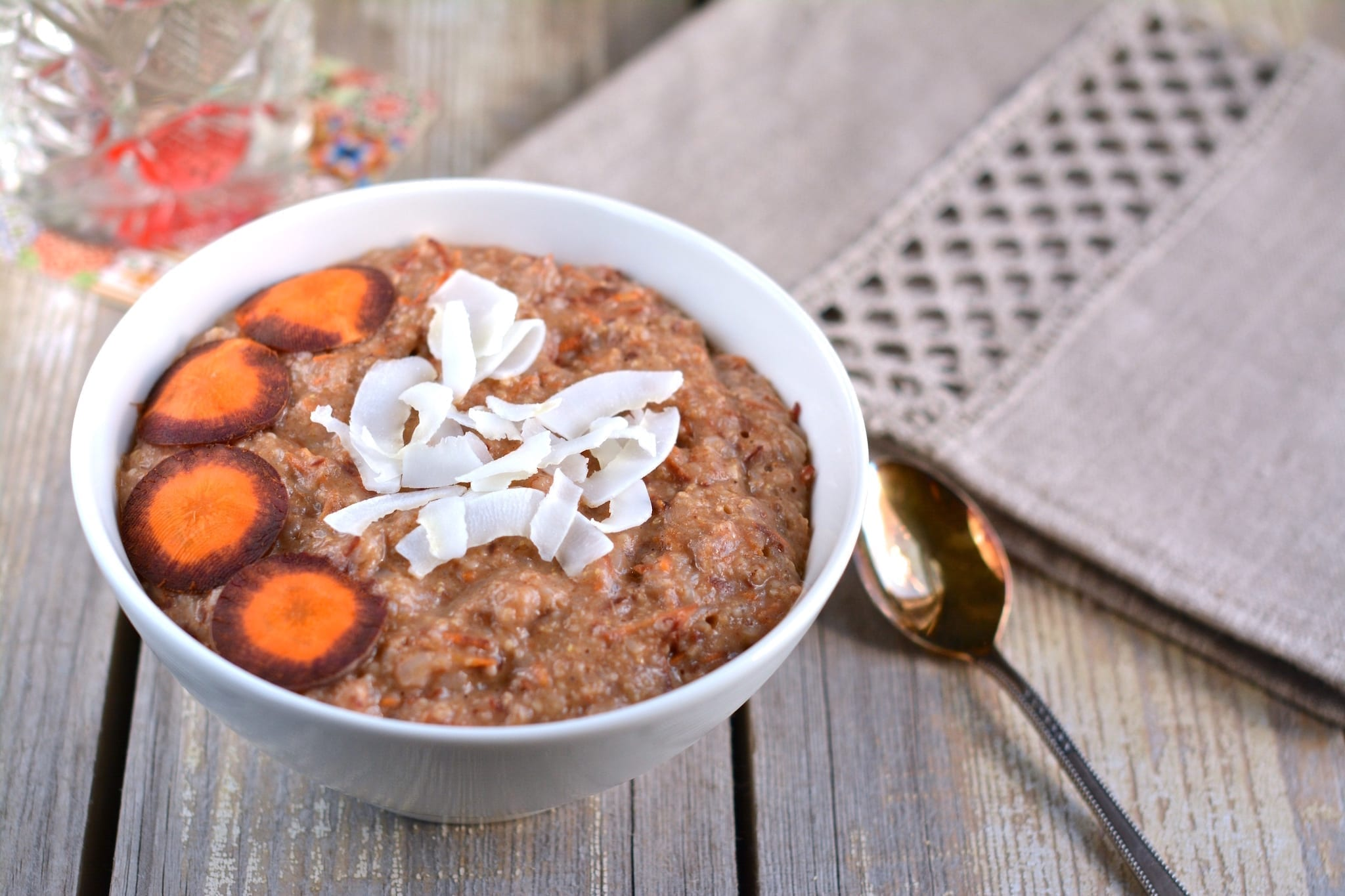 Porridge, Oat Bran-Buckwheat-Carrot