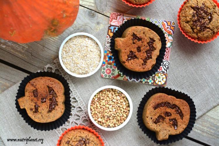 muffins-buckwheat-oat-bran-butternut-halloween