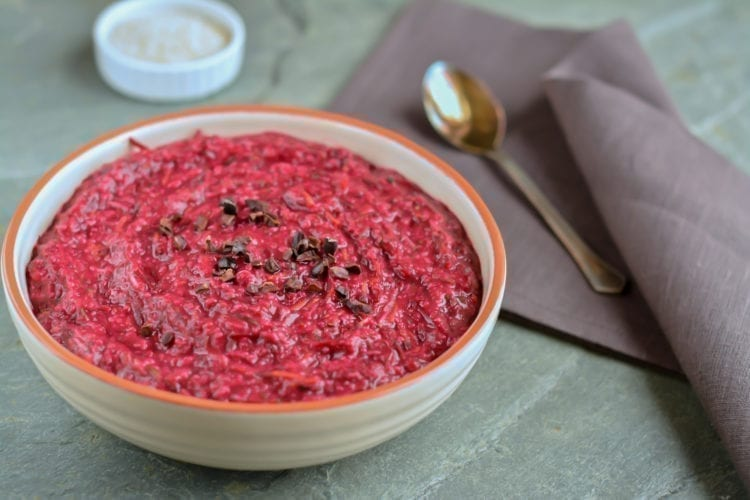 porridge-oat-bran-beet-carrot-zucchini-carob