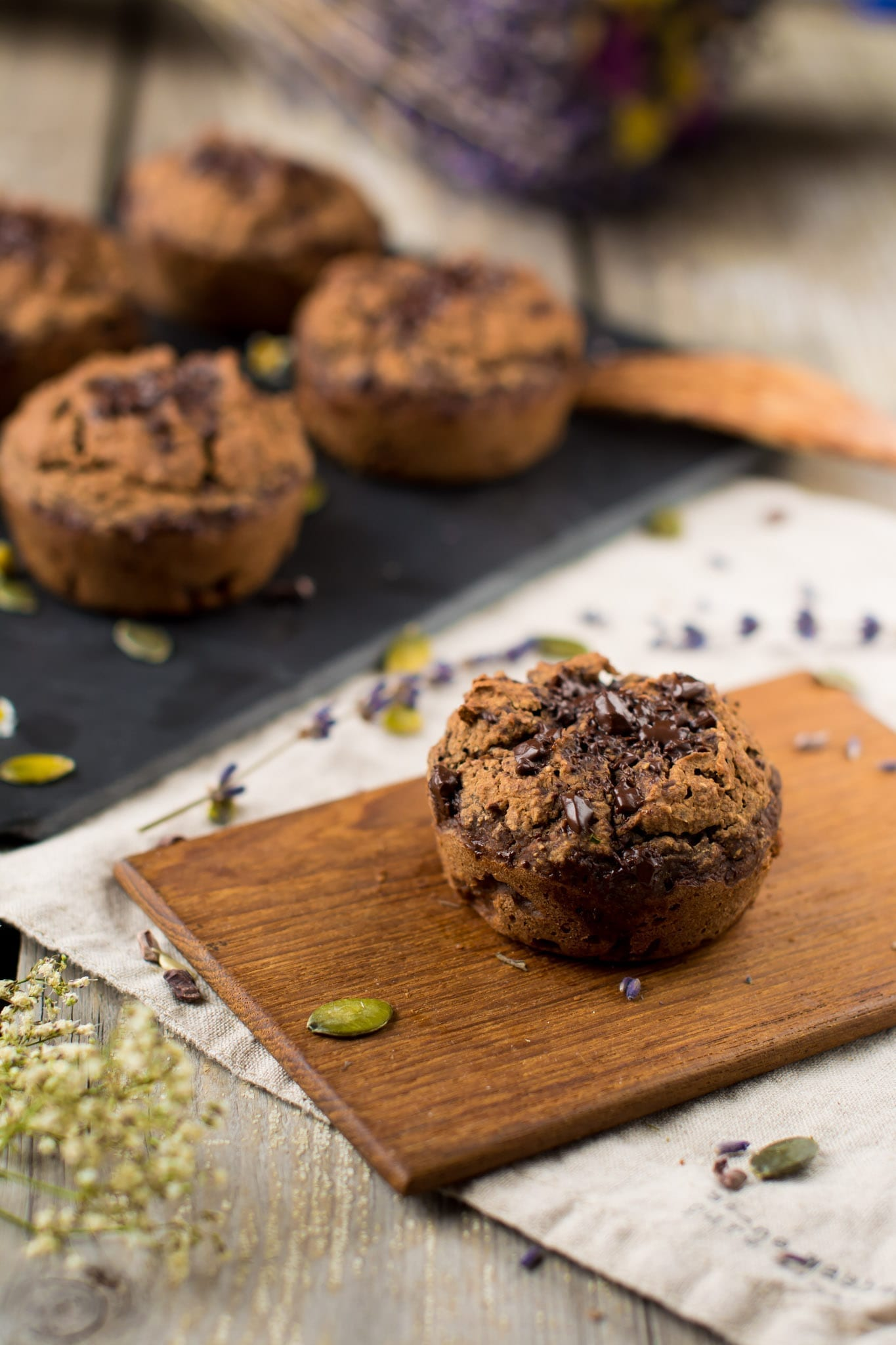 Muffins, Sweet Potato-Chocolate
