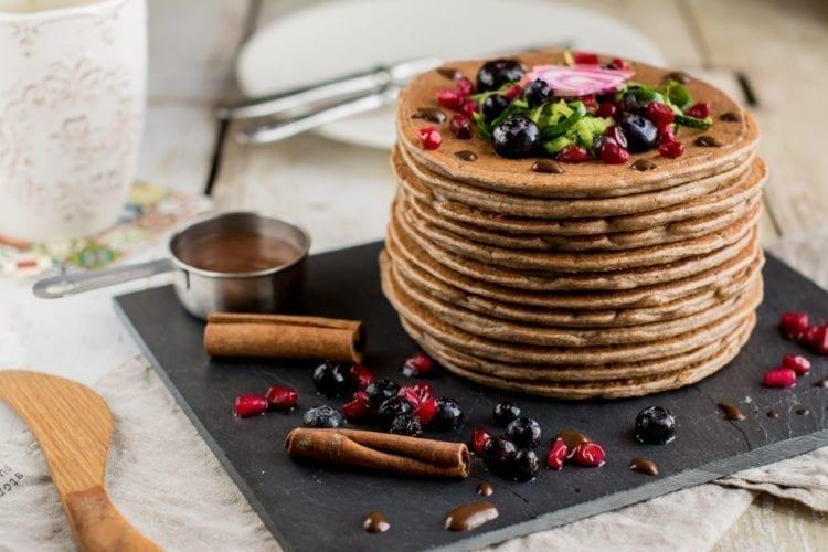 Tofu & Cinnamon Pancakes