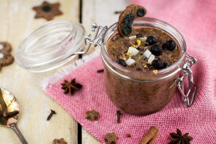 Pudding, Chia-Carob