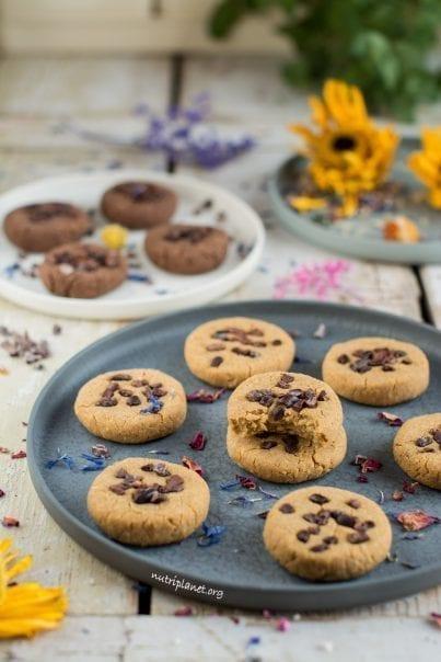 Vegan Chickpea Cookie Dough Bites aka Chickpea Cookies
