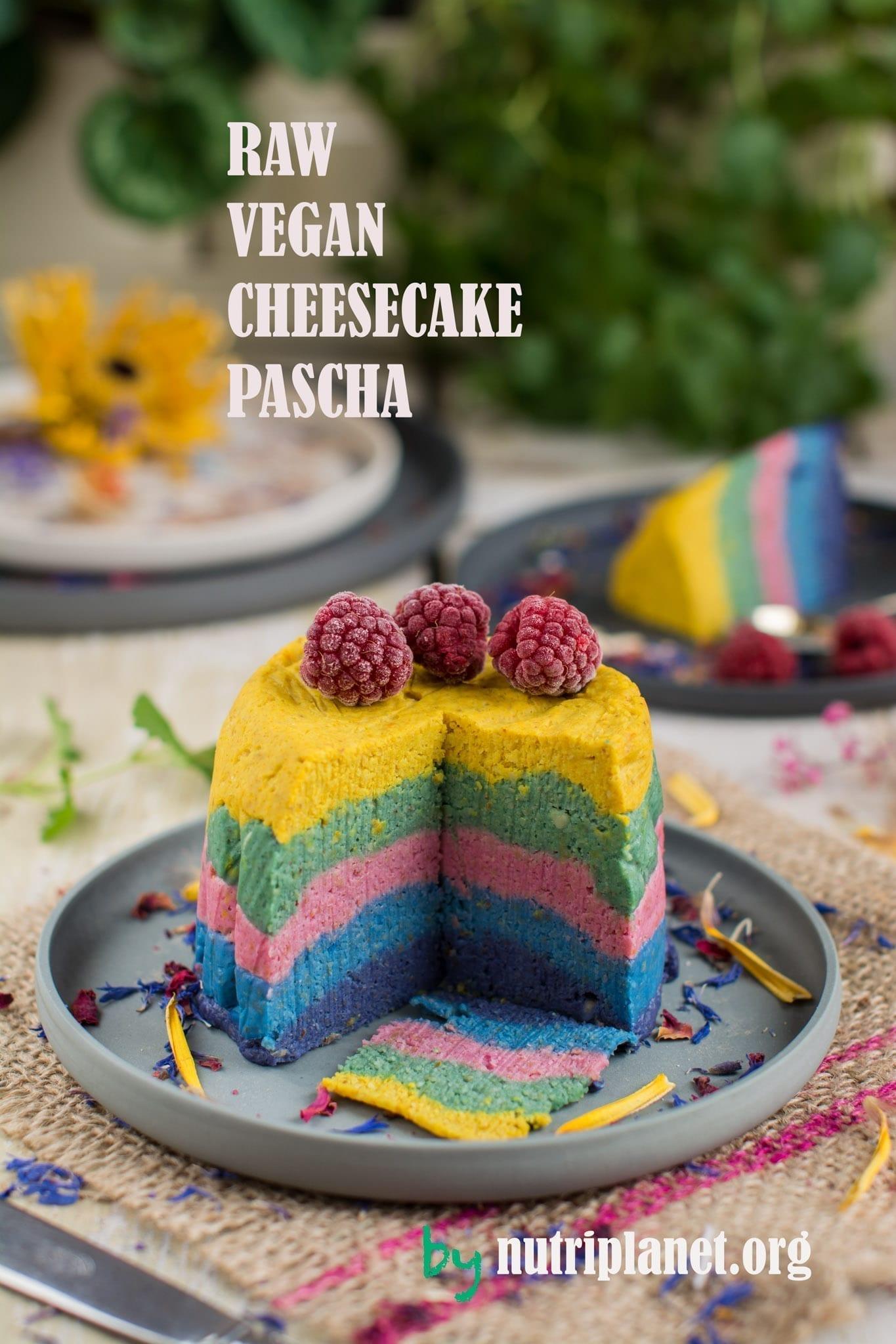 Raw Vegan Cheesecake [Gluten Free, Oil Free, Refined Sugar Free]