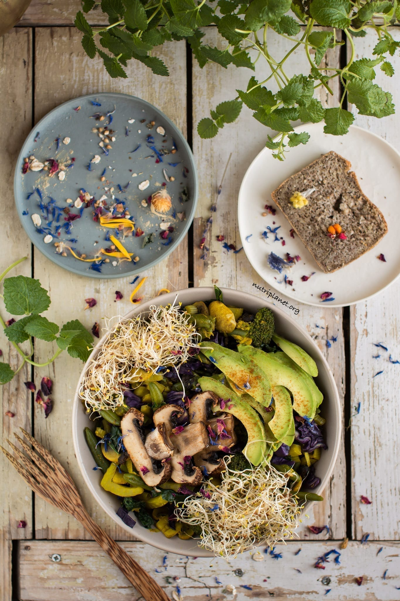 Easy Vegan Lunch Buddha Bowl