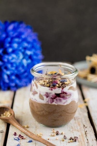 Chocolaty Vegan Yogurt Parfait