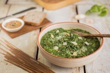 Creamy Vegan Spinach Dip