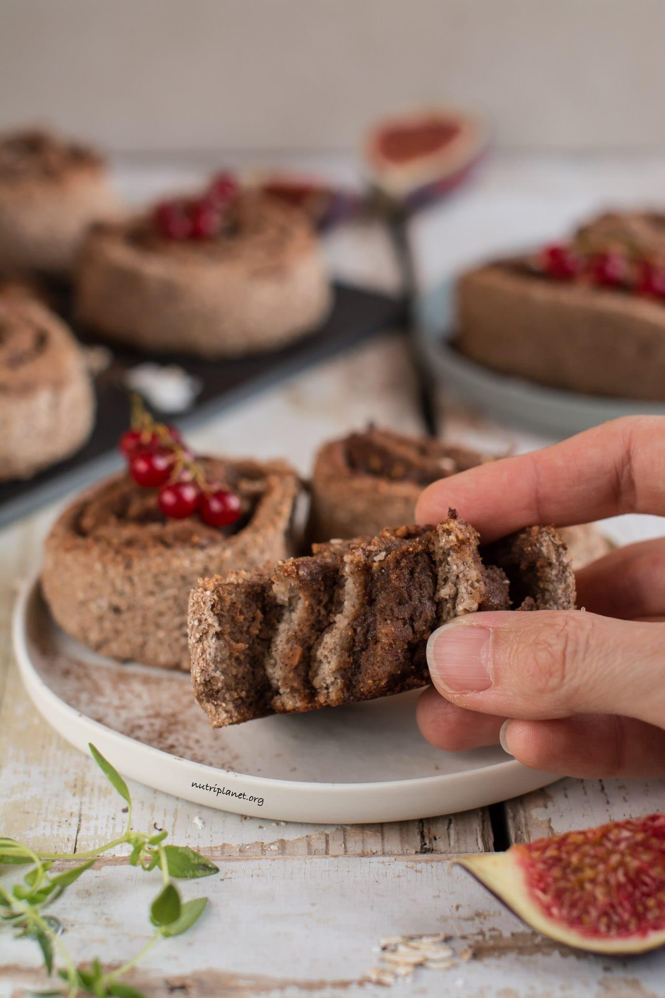 Gluten-Free No Yeast Vegan Cinnamon Rolls Recipe