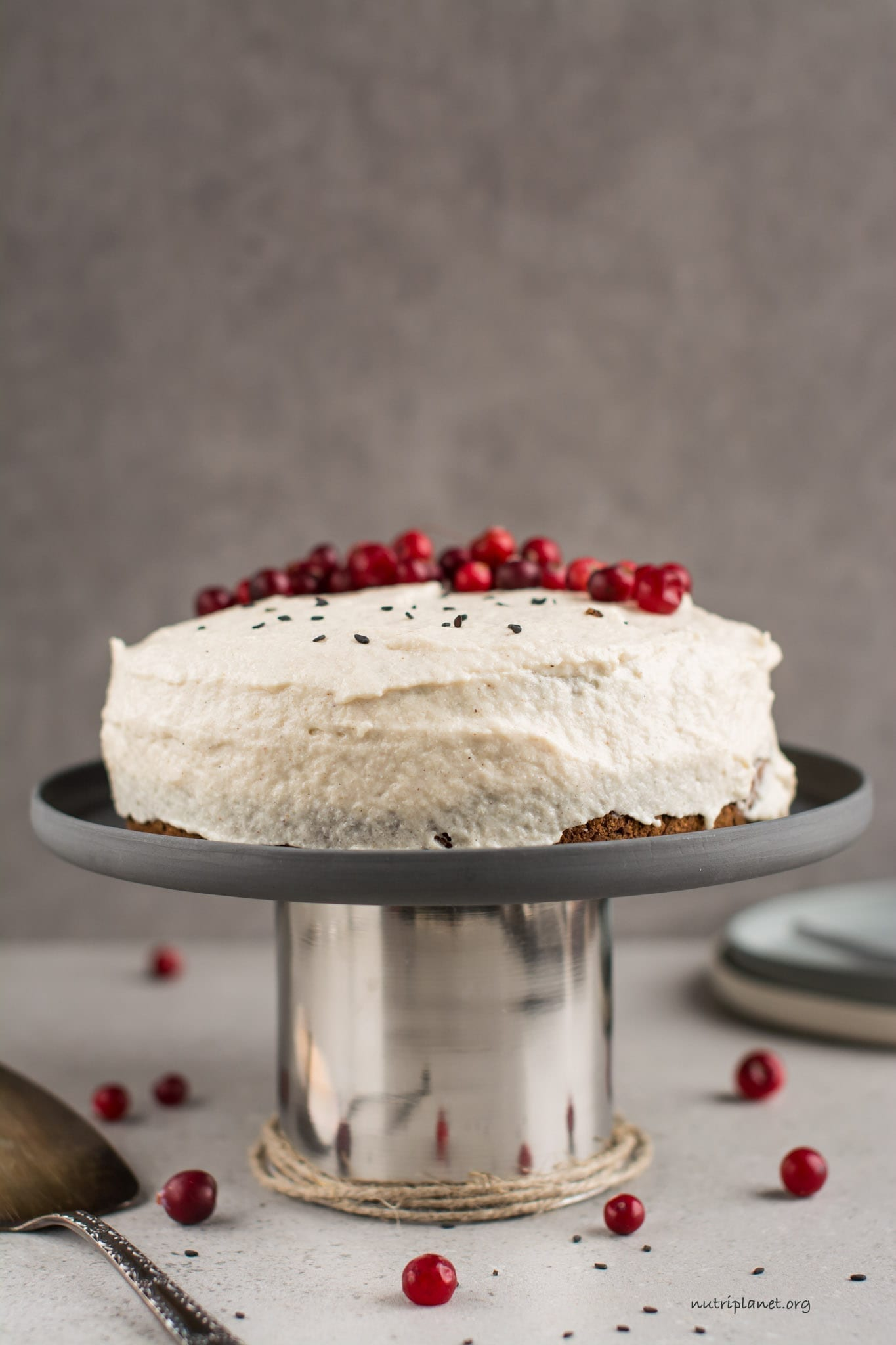 Vegan Carrot Cake with Vegan Cream Cheese Frosting
