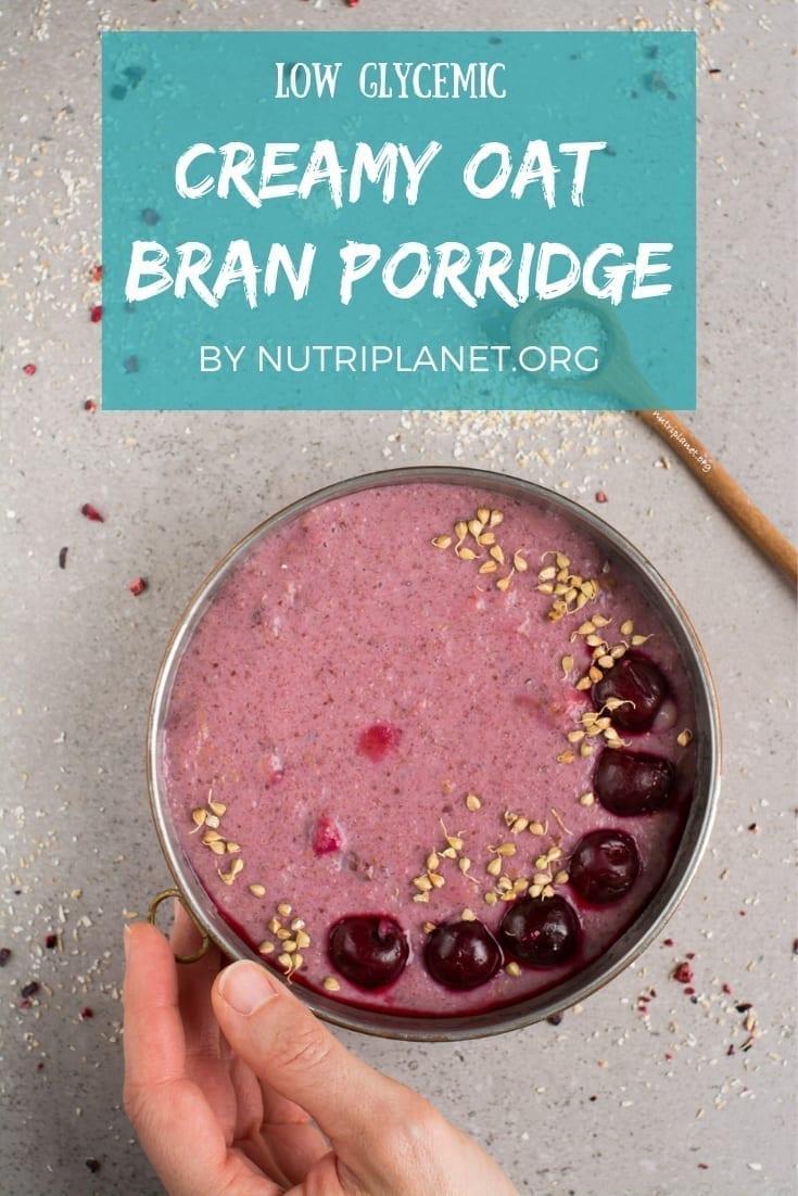 Creamy Oat Bran Porridge Recipe