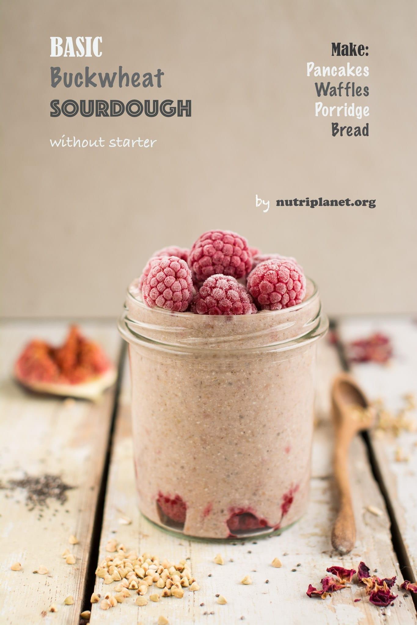 Basic Buckwheat Sourdough Recipe
