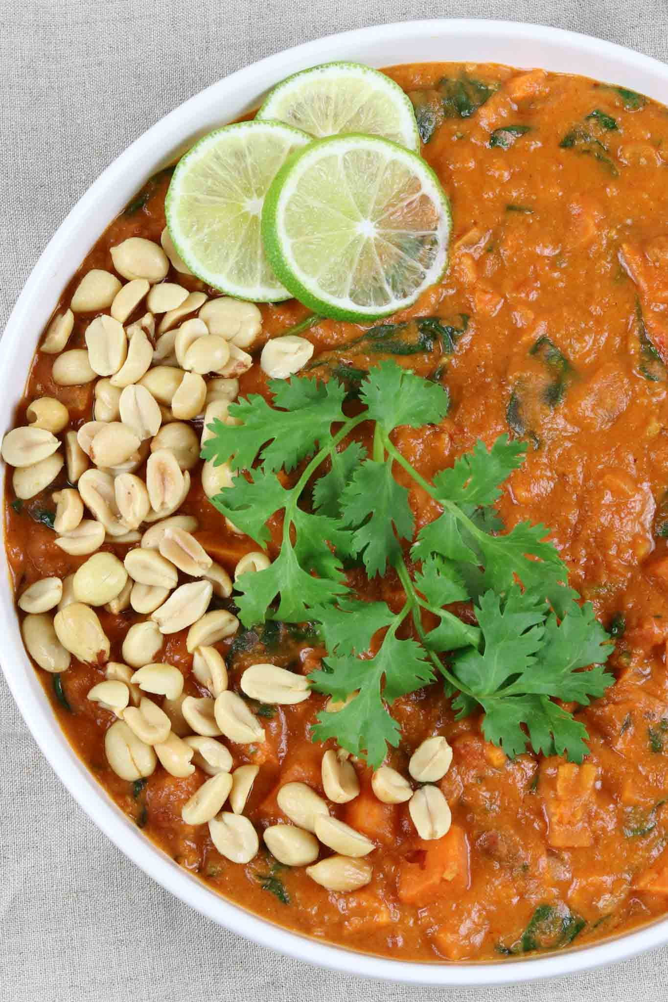 Sweet Potato Peanut Butter Stew, Peanut Butter Recipes
