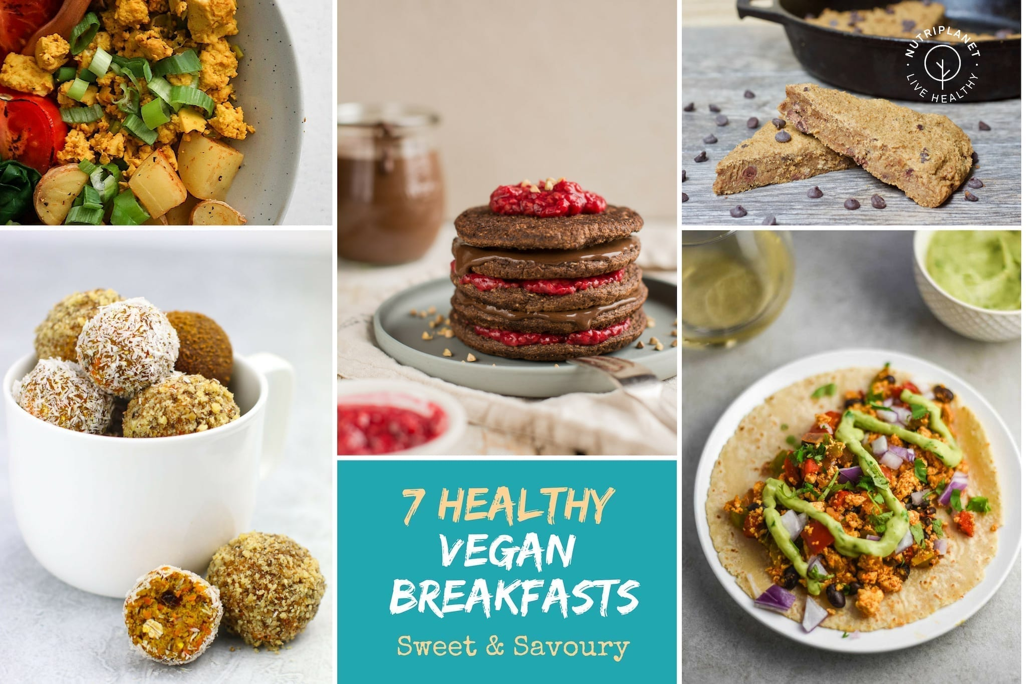 Healthy Vegan Breakfast Recipes 7 Sweet And Savoury Ideas Nutriplanet
