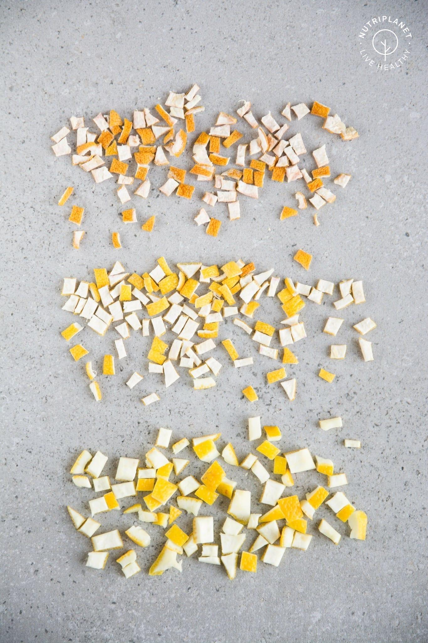 Dried Lemon Peel Powder