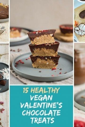 15 Healthy Vegan Valentine's Chocolate Treat Recipes